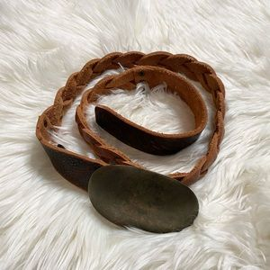 2/$40 Brave Braided Leather Belt